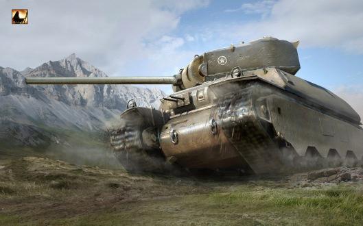Рисунок 1. Тяжелый американский танк М6